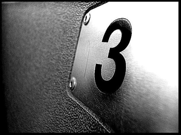 number 3 # 25