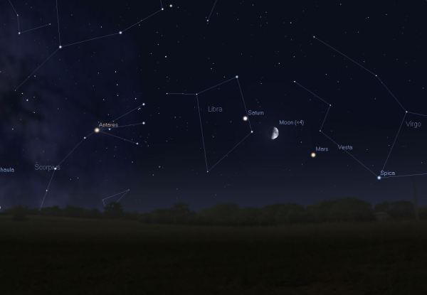 The Sky This Month August 2014 One Minute Astronomer
