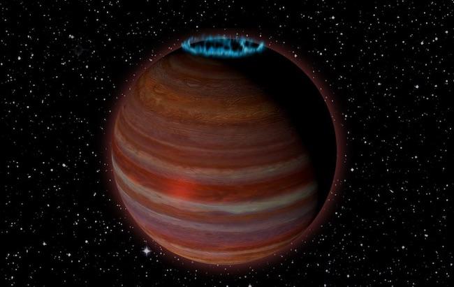 Ilustrasi objek dengan pembangkit magnetik kuat. Kredit: Caltech/Chuck Carter; NRAO/AUI/NSF