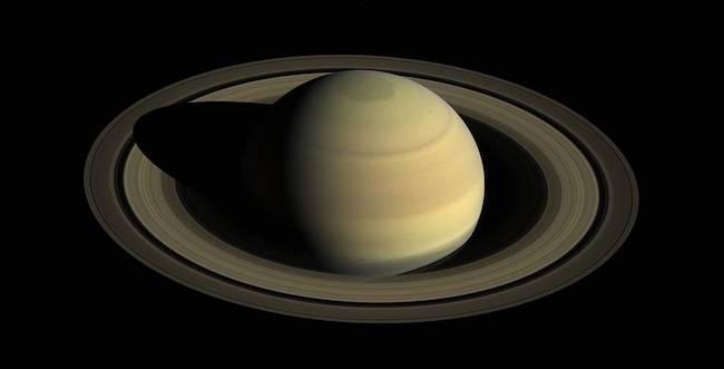 Cincin Saturnus yang dipotret Cassini. Kredit: NASA