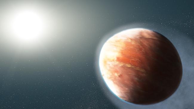 Ilustrasi planet WASP-121b. Kredit: NASA