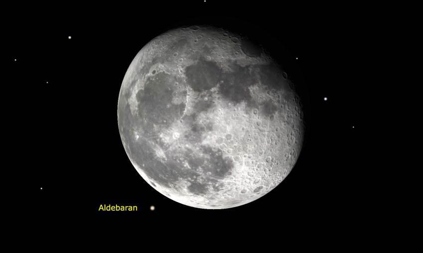 Luna-Aldebaran