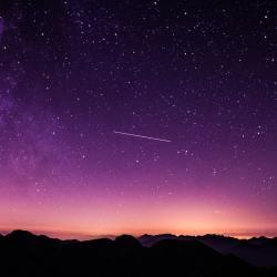 étoiles filantes