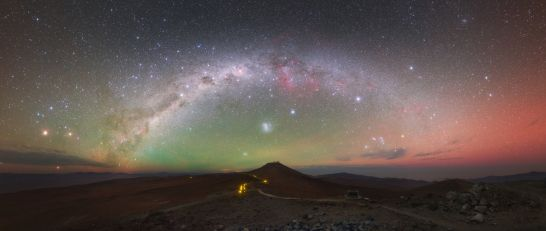 Milky Way over Chile's Atacama Desert