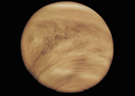 Clouds on Venus