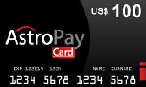 Astropay $100