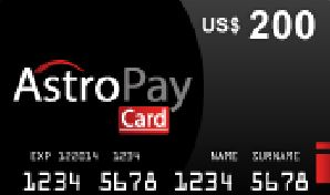 Astropay $200