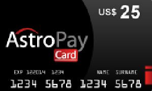 Astropay $25