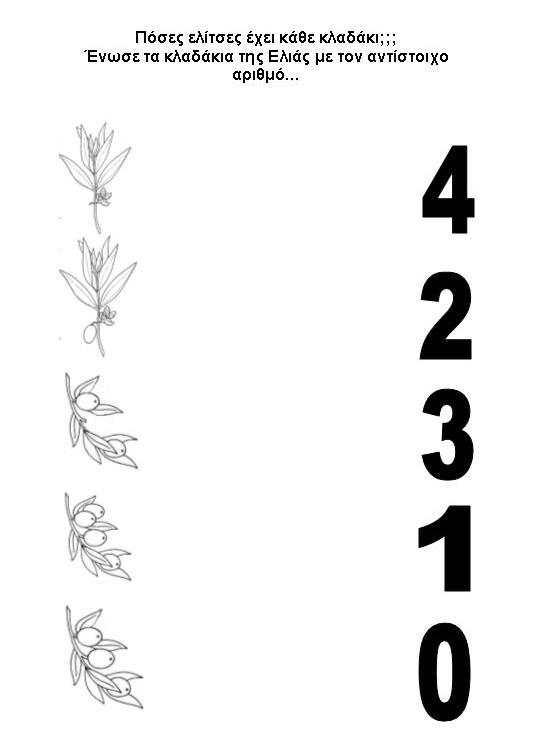 Ελιά: φύλλα εργασίας, παροιμίες, αινίγματα, εκφράσεις, λεξιλόγιο, ποιήματα, τραγούδια (4/4)
