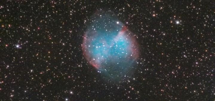 M27-The Dumbbell nebula