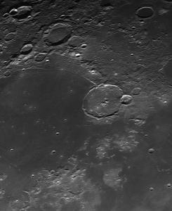 Gassendi crater moon