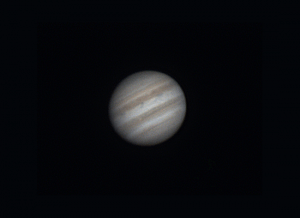 Jupiter with Skywatcher 150/750 and ASI224