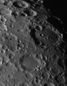 Around Clavius crater