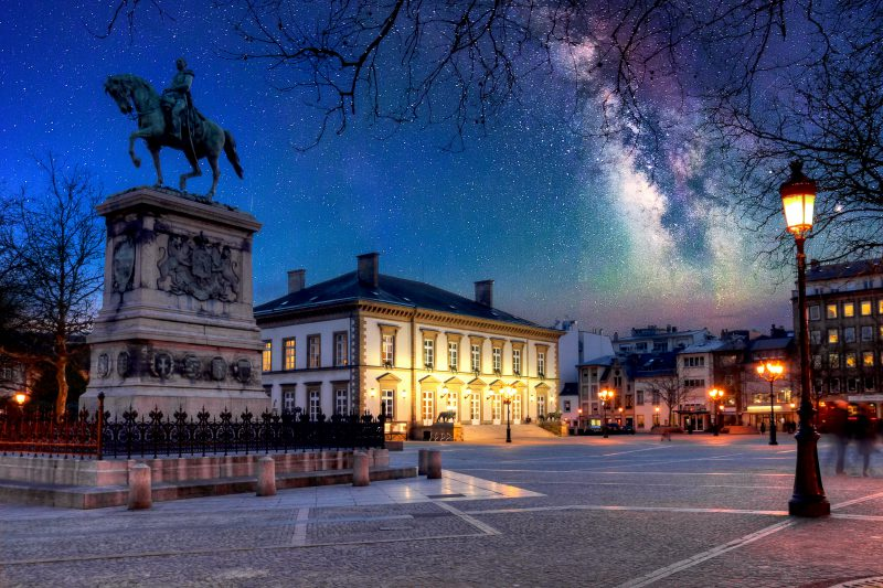 Place Guillaume II, Luxembourg city