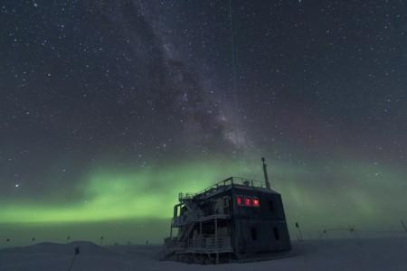 ICeCube Observatory - Pólo Sul