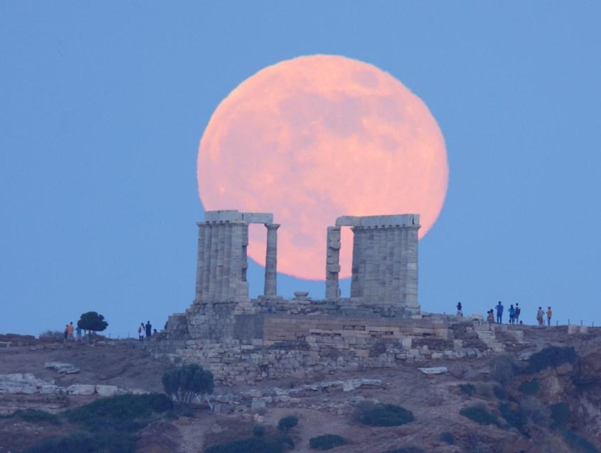 Templo de Poseidon, Grécia. Crédito: Elias Chasiotis