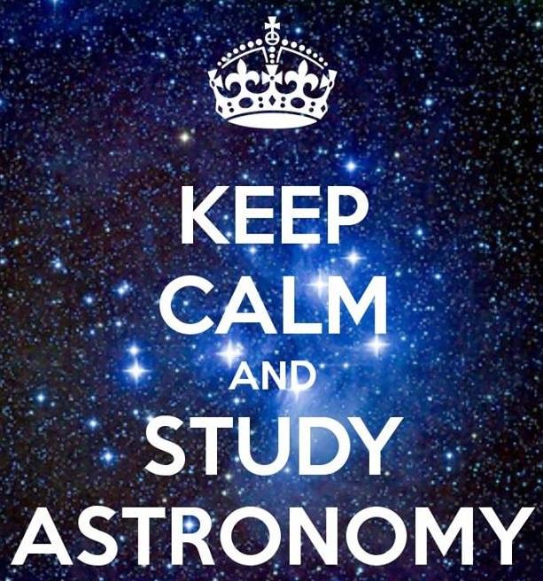 study astronomy
