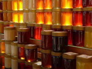 Verschillende varianten van honing