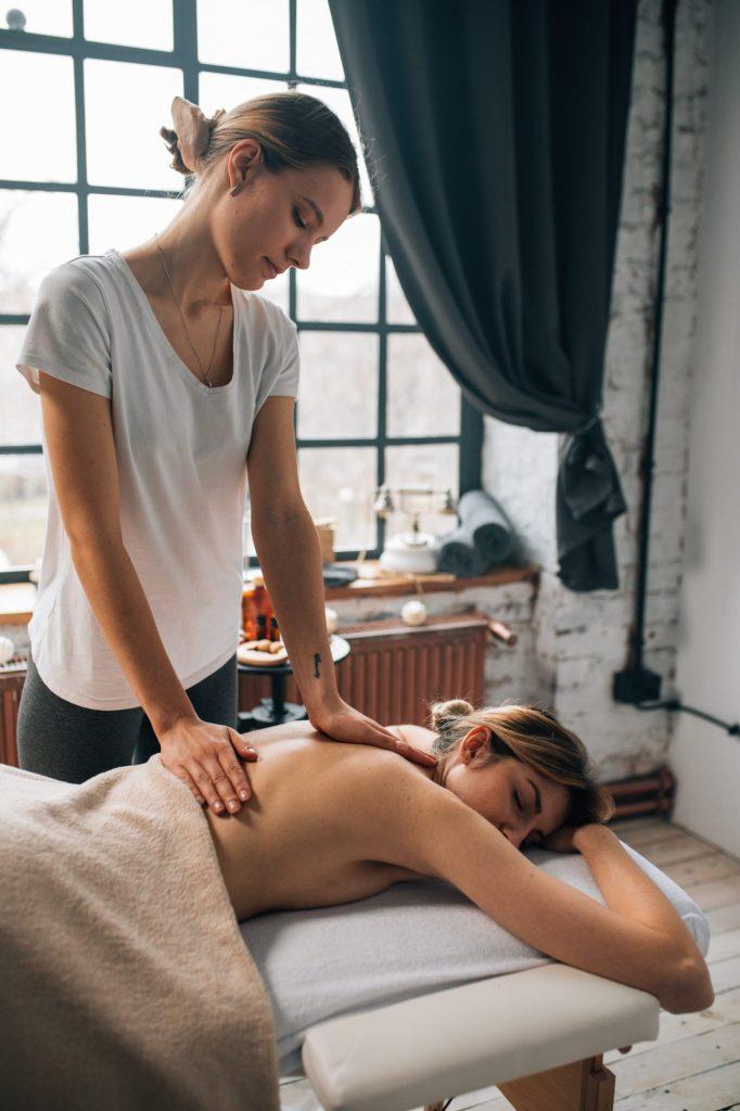 massage tegen pijnlijke spieren