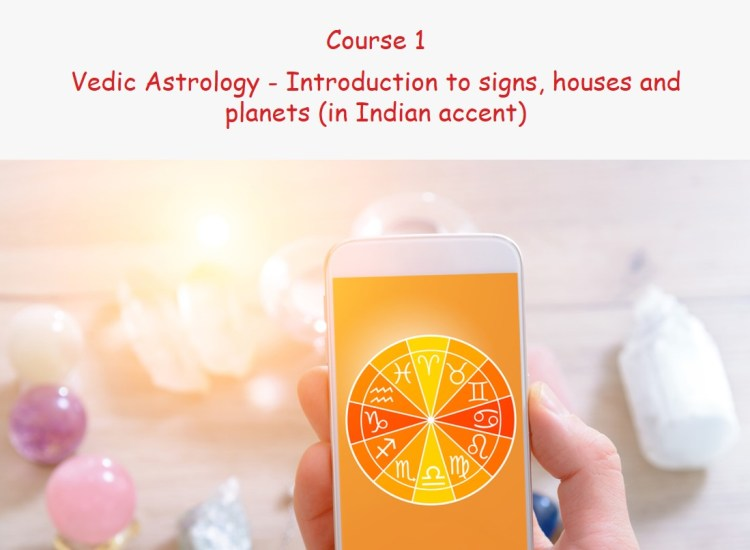Vedic Astrology-Introduction to signs, houses and planets (in Indian accent)