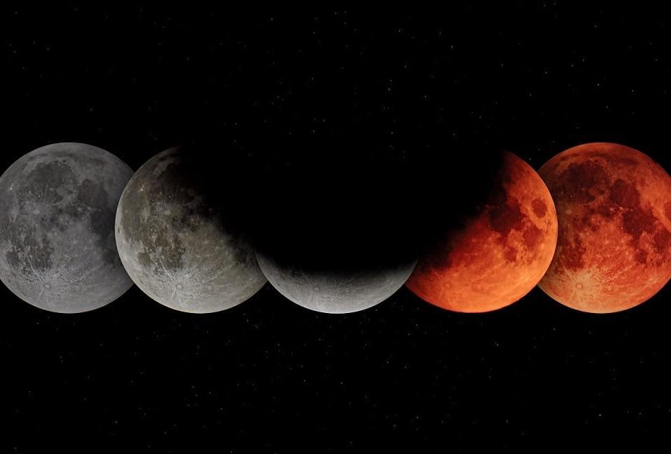 Zaćmienie Księżyca 19 listopada