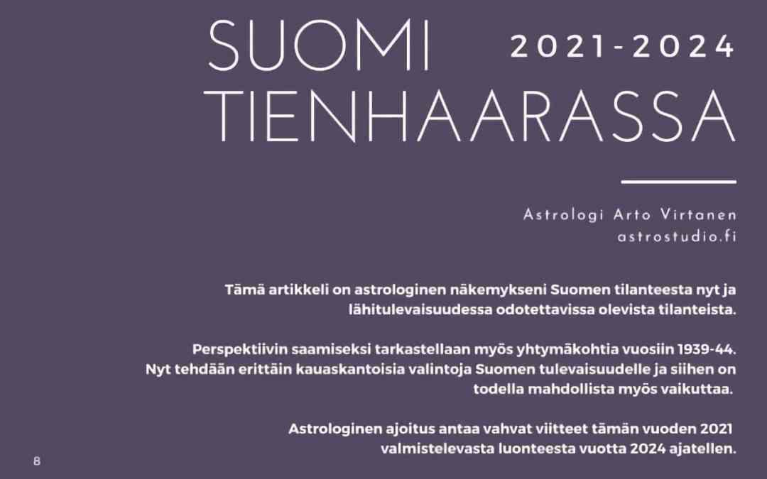 Suomi tienhaarassa 2021-2024