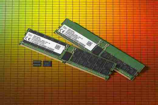 World's First 64GB DDR5 RAM Modules Created by SK Hynix