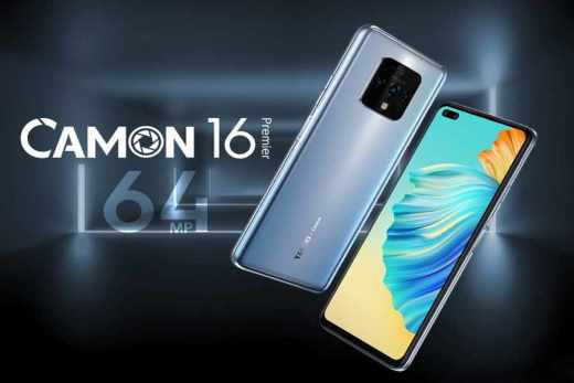 Tecno Camon 16 Premier Features, Price and Specifications