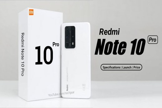 Redmi Note 10 Pro Launch Date, Specs And Pricing Leaked