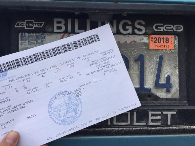 DMV Bullshit
