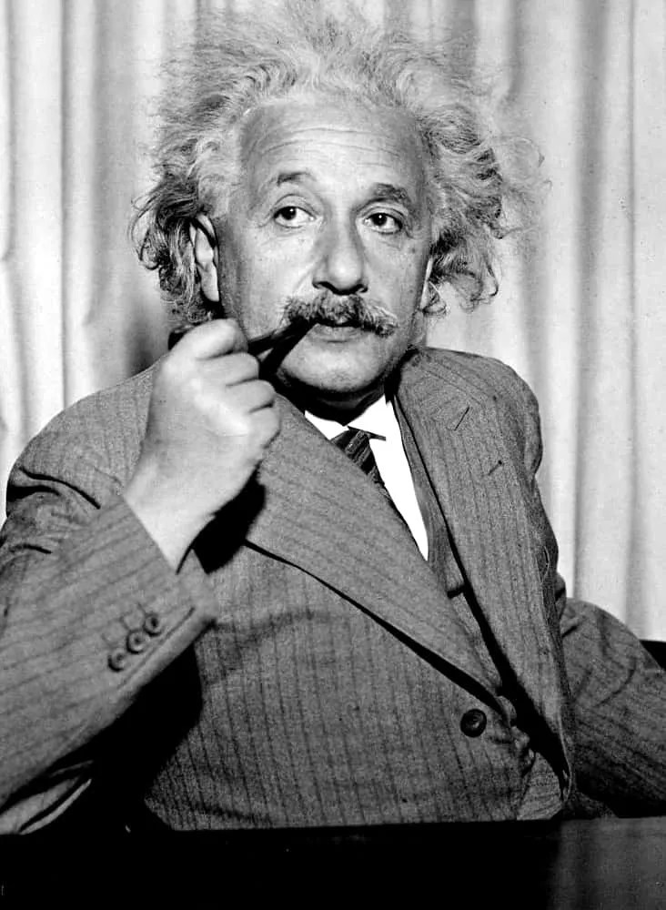 Albert Einstein (javna domena)