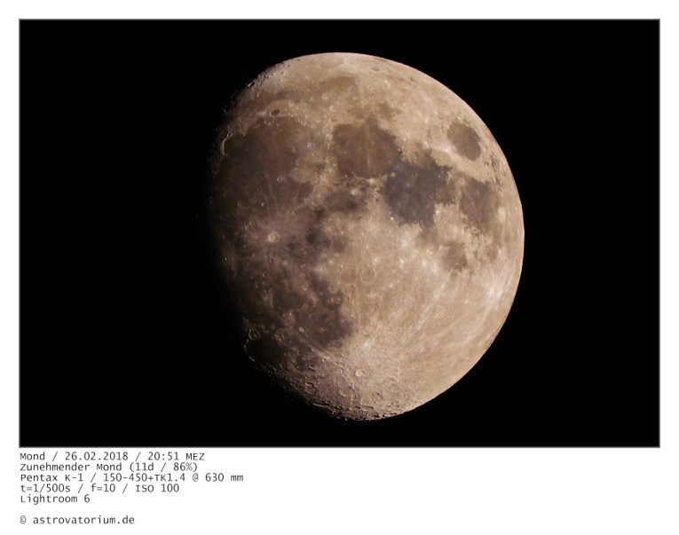Zunehmender Mond