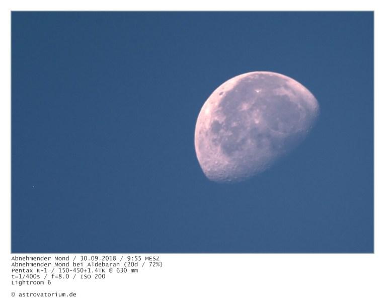 180930 Abnehmender Mond bei Aldebaran 20d_72vH