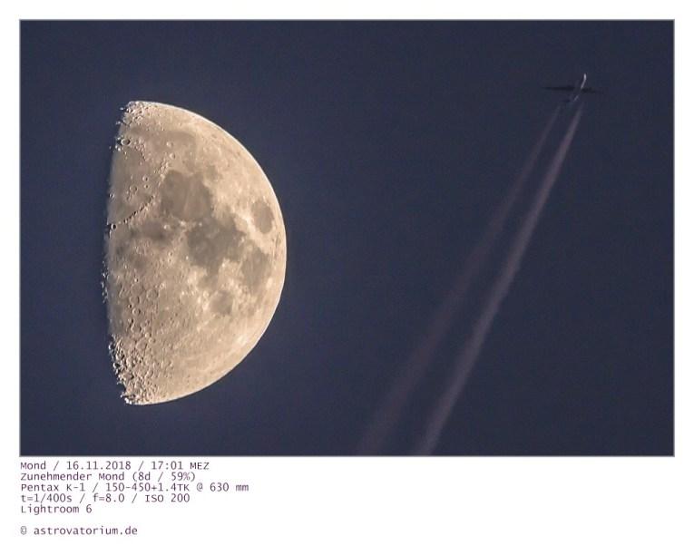 181116 Zunehmender Mond u Flieger_1 8d_59vH