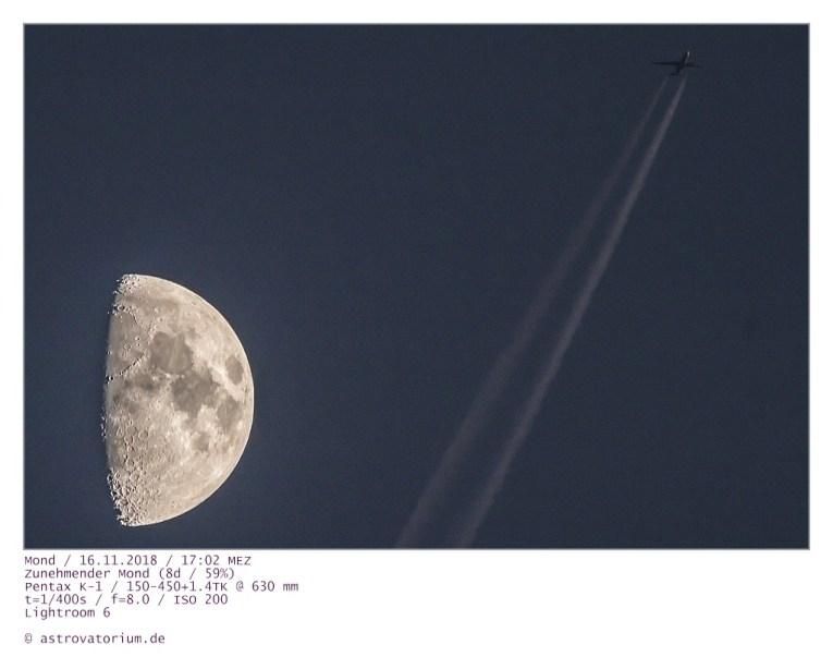 181116 Zunehmender Mond u Flieger_2 8d_59vH