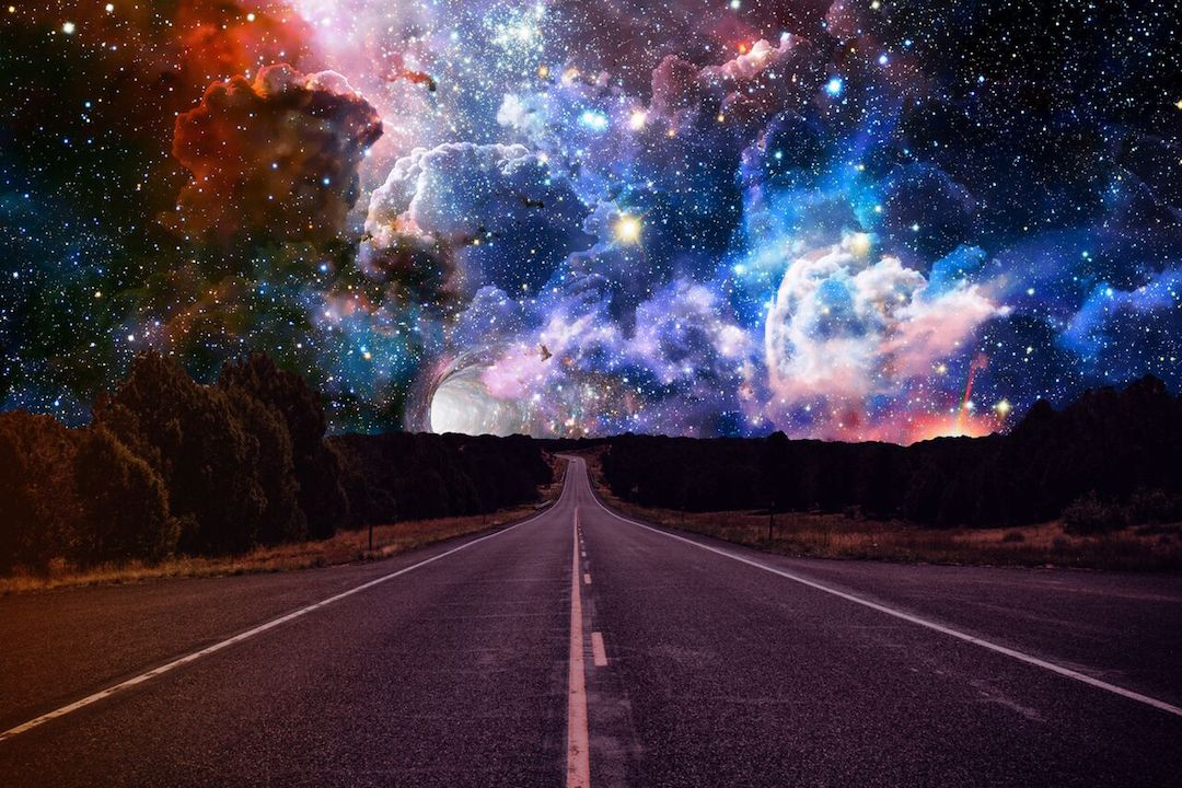 , космос - Road, space 6000×4000_preview