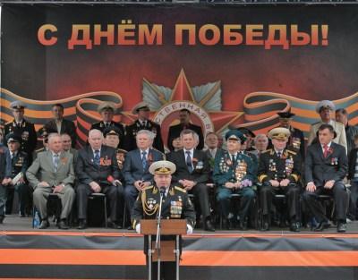 9 мая 2011 г., парад Победы