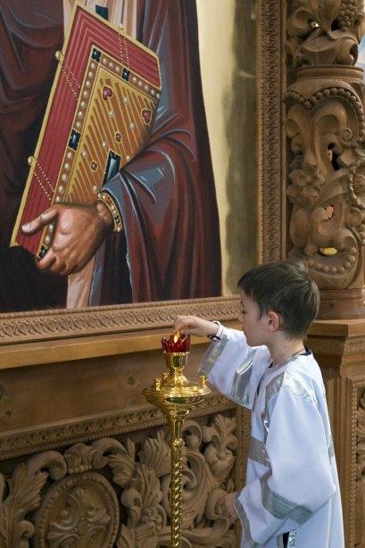 Е.Е.Скрозников - Божественная Литургия в день Пятидесятницы