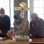 Раздача колива, память великомученика Феодора Тирона