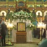 Ночное богослужение в праздник Рождества Христова, 7 января 2014 года