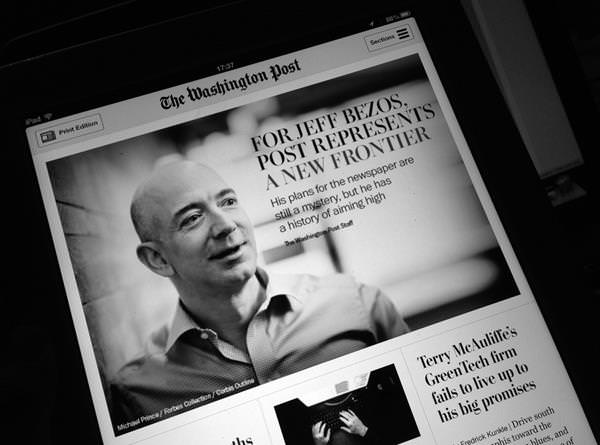 Jeff Bezos bought the Washington Post from the Graham family for $250 million in cash.