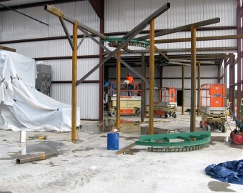 The new 50,000 sq. ft. modern production facility