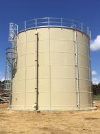 a potable water storage tank