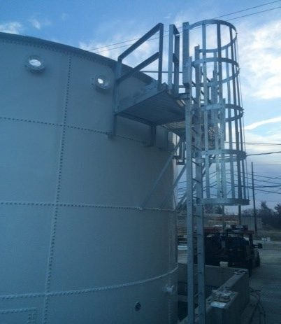 New Leachate Storage Tank