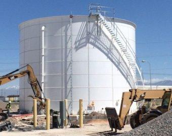 Tank in Salt Lake City, Utah