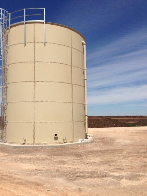 Waste water storage solution