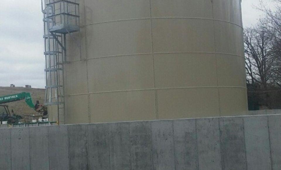 Leachate Storage Tanks