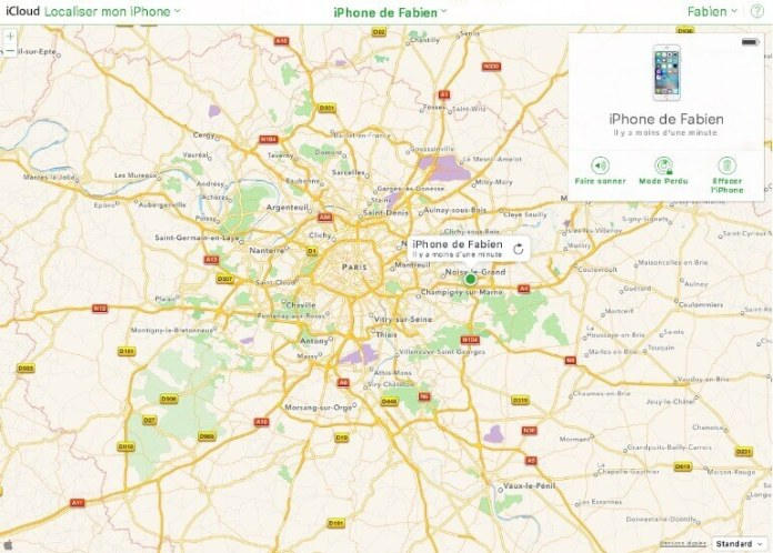 localiser-mon-iphone-carte