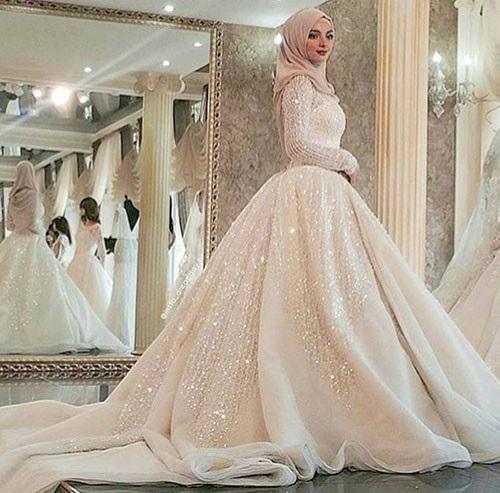 Belle robe de hijab
