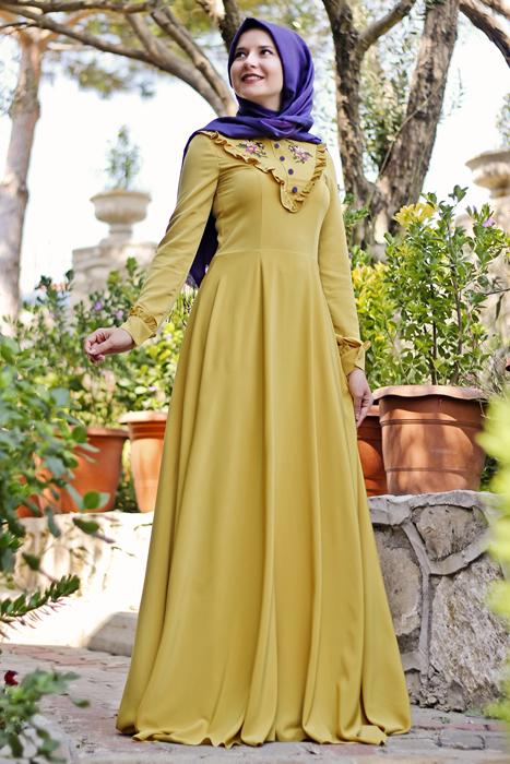 Robe De Soire Pour Hijab 10 Modles Fahion Et Classes